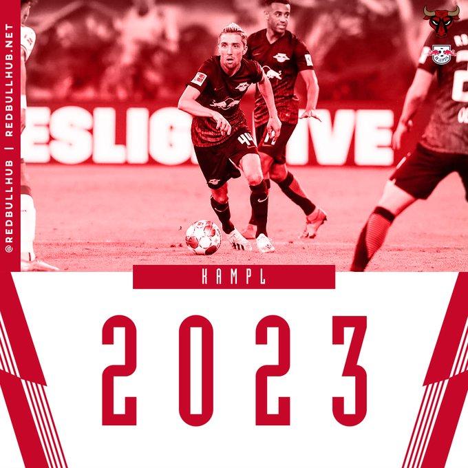 莱比锡官方:中场大将坎普尔续约至2023年  足球话题区