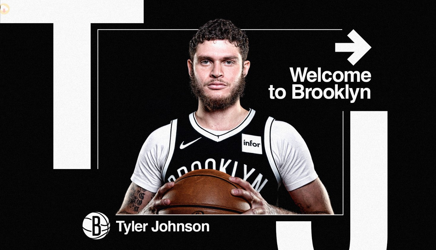 官宣:篮网签下后卫泰勒-约翰逊