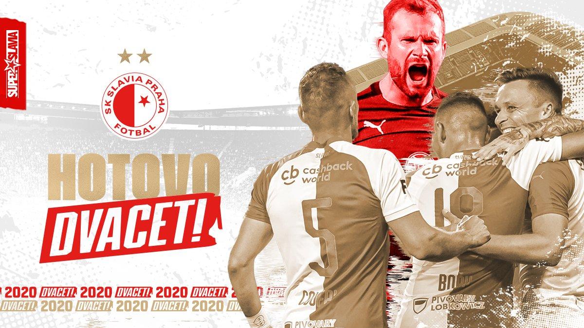 布拉格斯拉维亚锁定捷克甲两连冠,国内