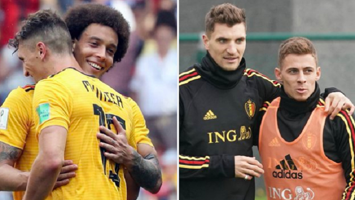 众特比利时三人组一首出场的15场比赛里,比利时14场不败