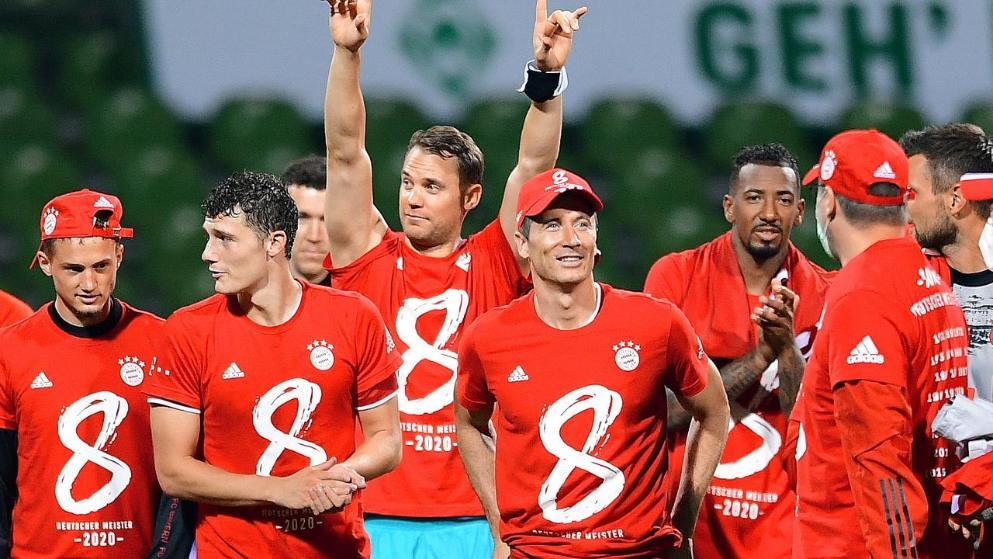 图片报:拜仁将在本轮赛后戴手套捧起德甲沙拉盘  足球话题区