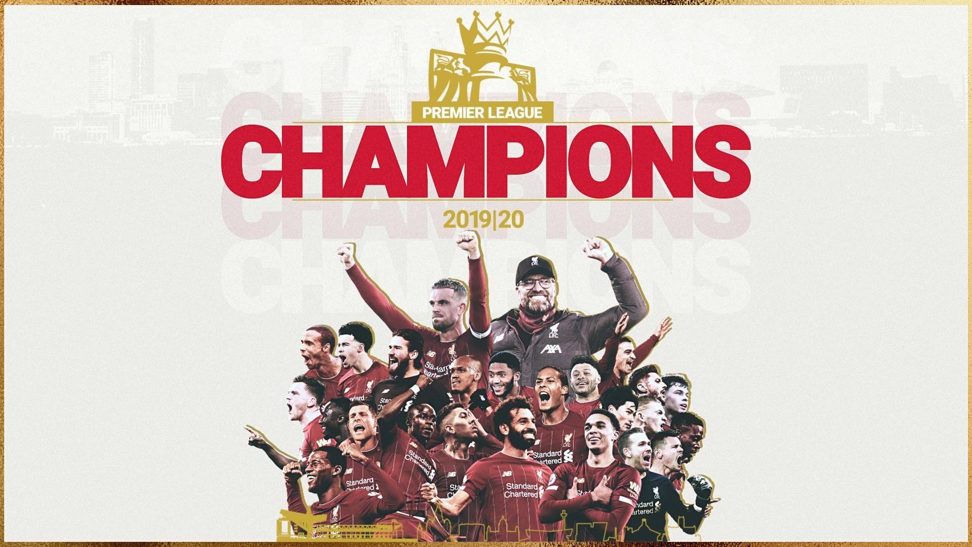 豪取首冠!天空体育盘点利物浦夺冠后仍可冲击的四大纪录