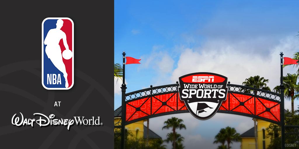 官方:NBA、球员工会、迪士尼宣布敲定本赛季复赛计划