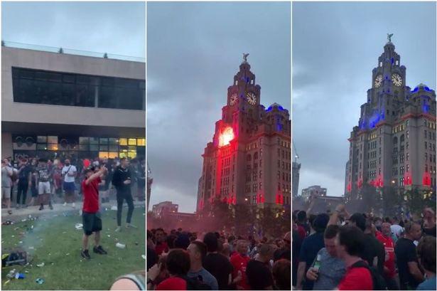 怒!皇家利物浦大厦被纵火后,利物浦市长正在考虑执走宵禁