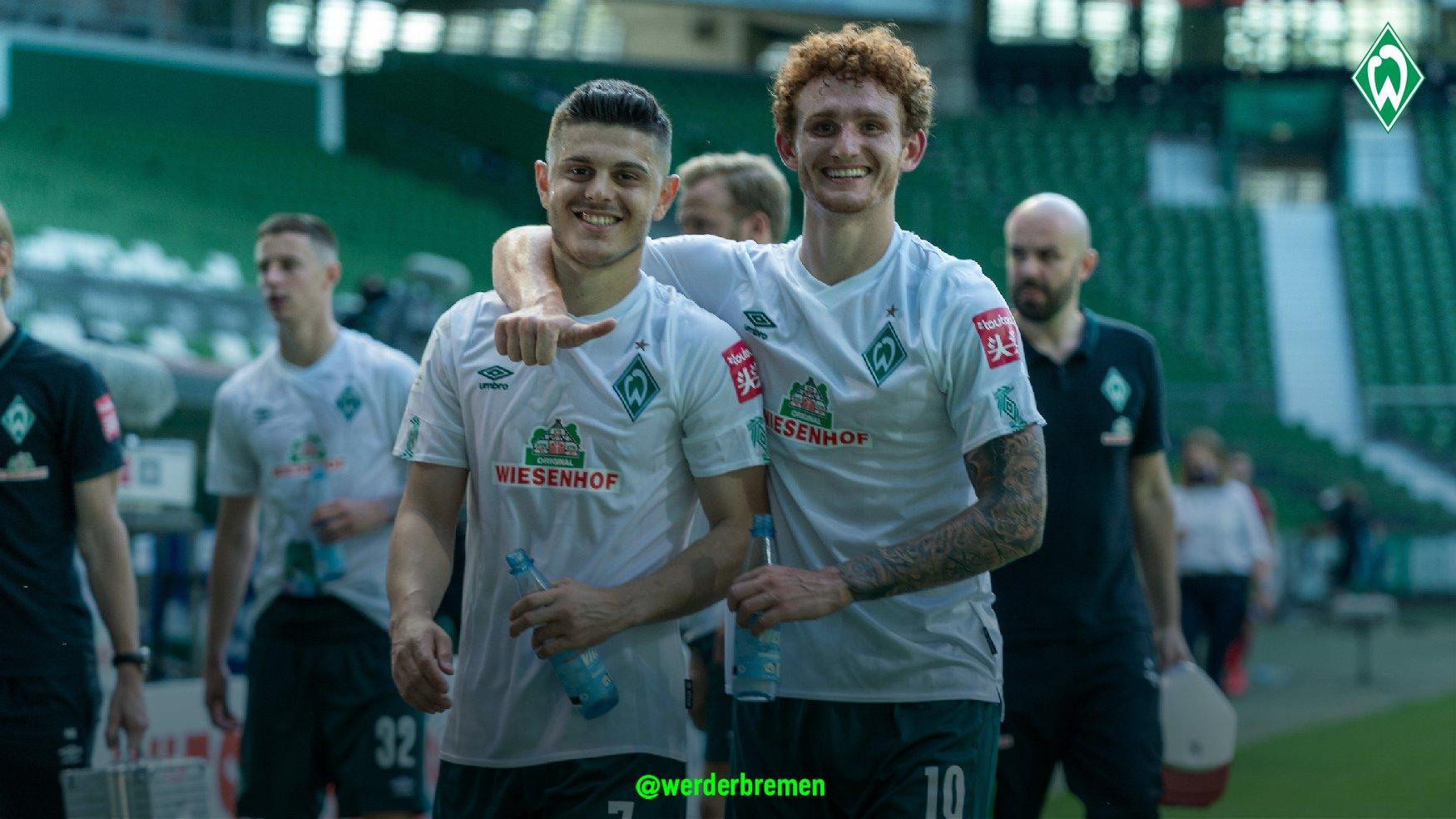 不莱梅此前连续13轮位列德甲降级区,末轮战罢进附加赛