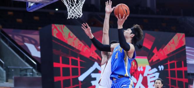 王哲林生涯总得分连超张劲松和焦健,上升至历史第36位