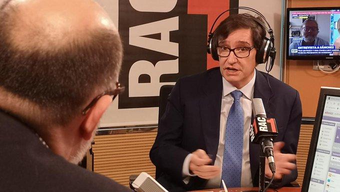 西班牙卫生部长:我觉得西班牙人能保级,虽然真的很难