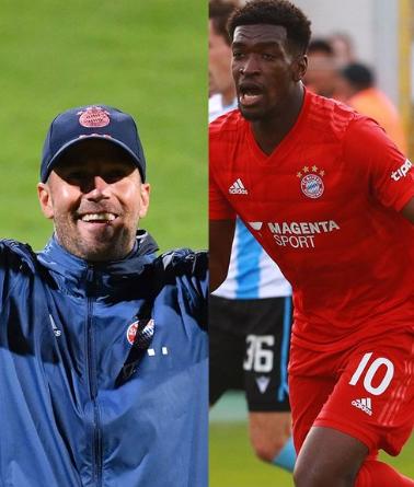 官方:拜仁二队主帅赫内斯和前锋弗里特当选德丙赛季最佳