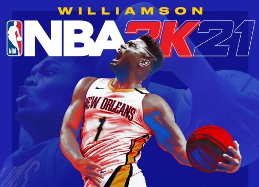未来之星:蔡恩-威廉森成为下世代主机平台NBA 2K21封面球员