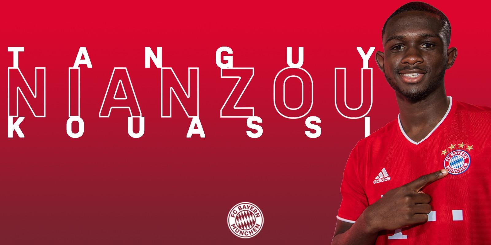 官方:拜仁慕尼黑签下巴黎圣日耳曼小将库阿西