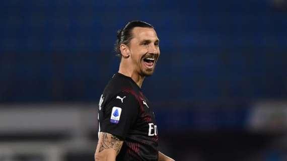 38岁8个月零28天,伊布成米兰队史第6老出场的球员