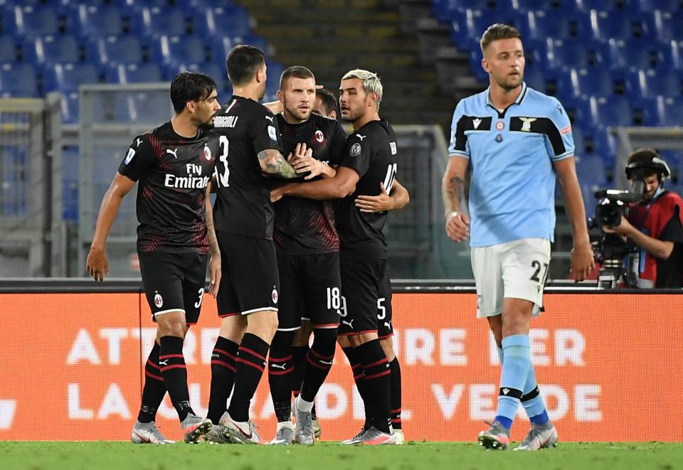 拉齐奥遭遇本赛季意甲主场首败,剩8轮差7分夺冠希望渺茫  足球话题区