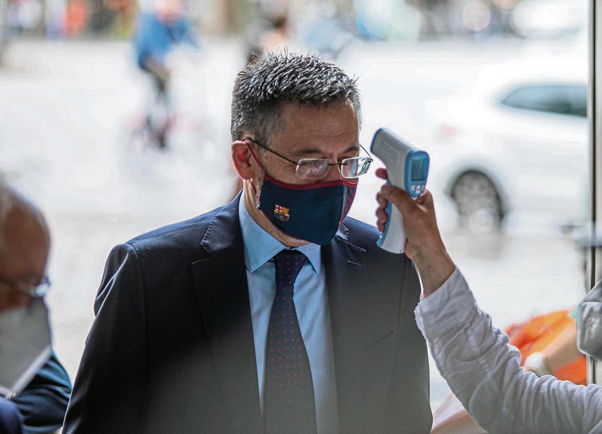 加泰警卫队本周搜查诺坎普,要求巴萨提交公关门相关文件