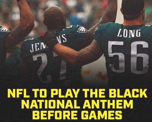 NFL计划在复赛首周播放黑人国歌,库里:能解决啥问题?