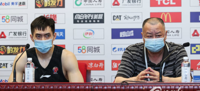 吴庆龙:吾们从一开起就不是强队,打广东不会战略屏舍