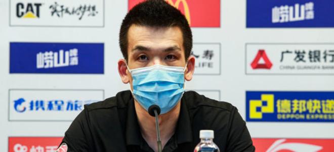 解立彬:逐渐适应主教练角色,邱天进步因自身求上进