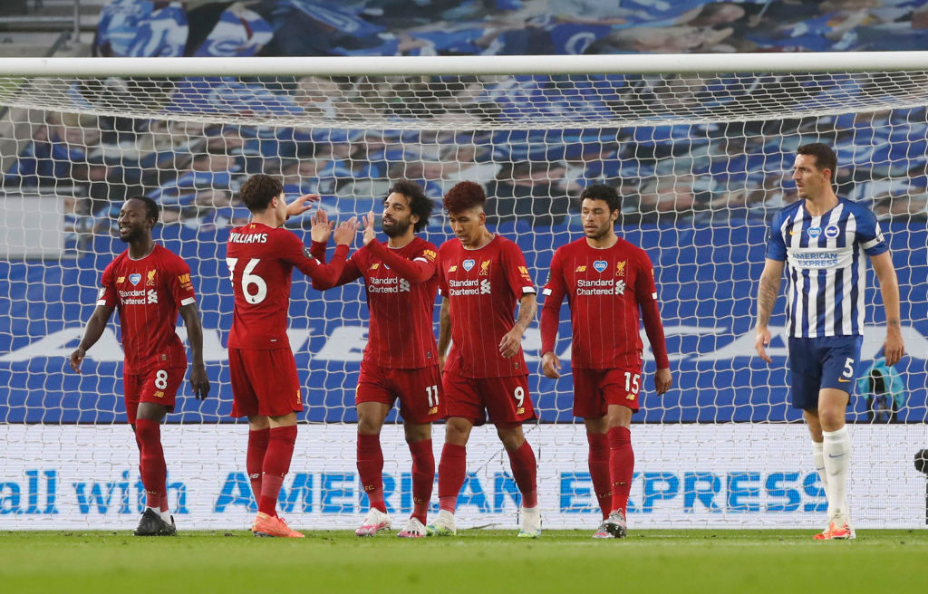 客场终破荒!萨拉赫破门打进利物浦近6个客场比赛首粒进球