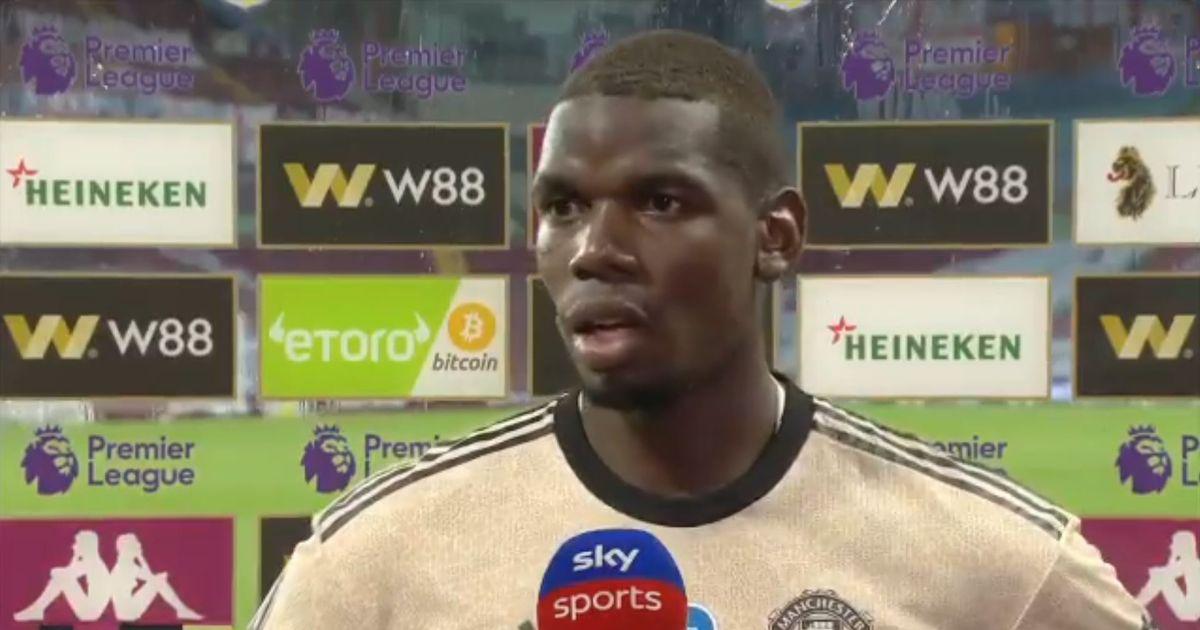 博格巴:必须得保持状态,英超冠军才是我们曼联的目标