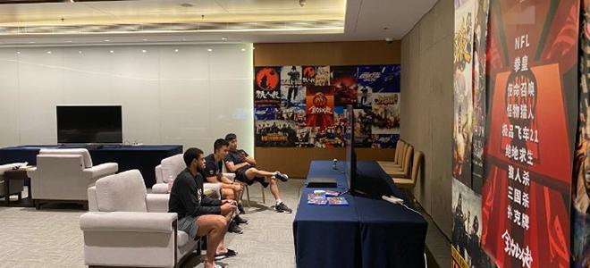 CBA联盟为球员准备休息按摩区、游戏室