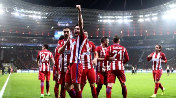 德甲克星,马竞过去8次欧战淘汰赛对阵德甲球队全部晋级