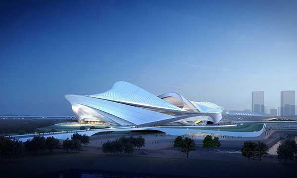 2023年亚洲杯专业足球场陆续开建,目前有6座城市同时在建