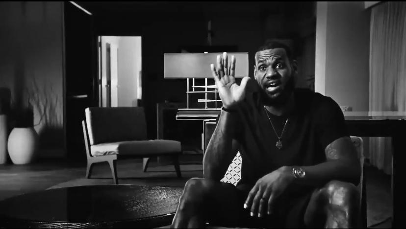 詹姆斯宣传《伟大代码》纪录短片,回顾12东决G6关键时刻