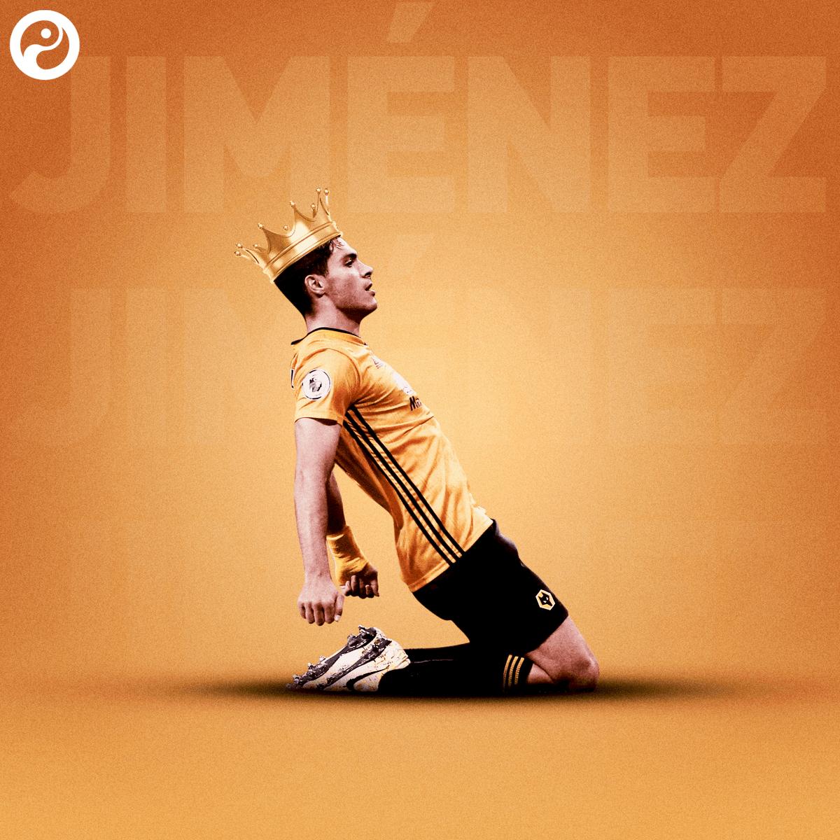 希门尼斯本赛季至今已造35球,英超球员中与萨拉赫并列最多