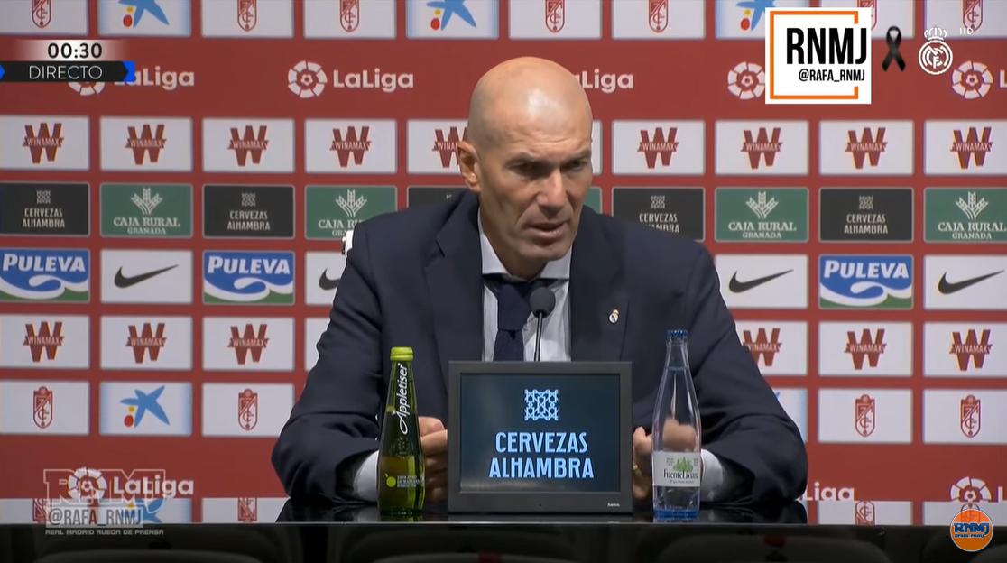 齐达内:我对贝尔在场边干啥没意见,我的目标是赢球
