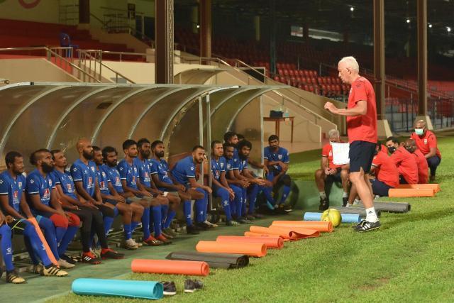 体坛:马尔代夫集训备战40强赛,战国足前难觅热身对手