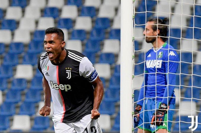 GIF:贝拉尔迪冒顶桑德罗头球破门,尤文扳平比分