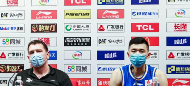 凯萨尔:争取下轮锁定季后赛,浙江队打法可能是联盟最好