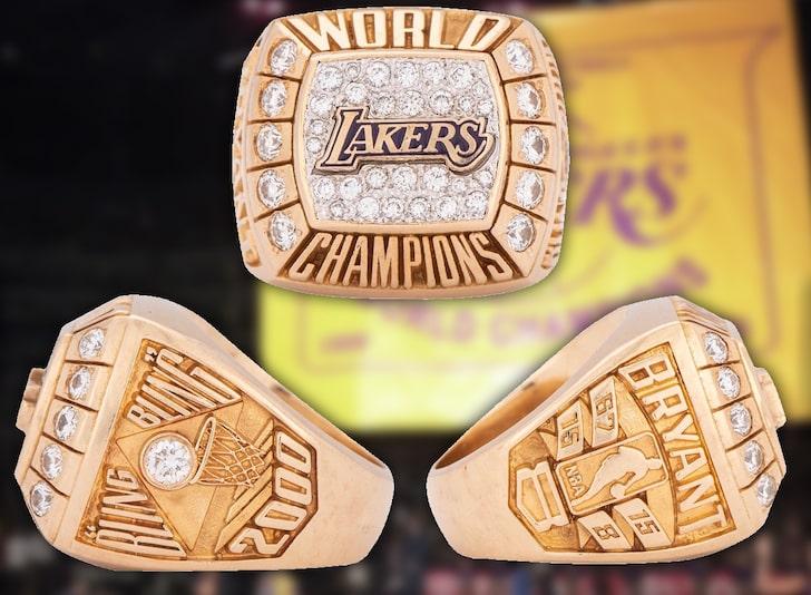 科比20年前送给父亲的冠军戒指以13.2万美元价格被拍卖