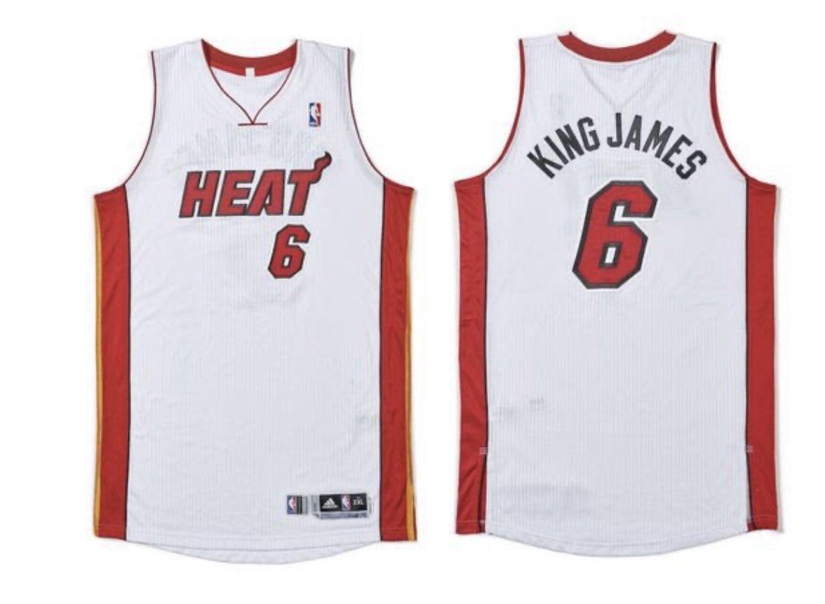一件印有绰号的詹姆斯球衣将拍卖,预计成交价达15万美元