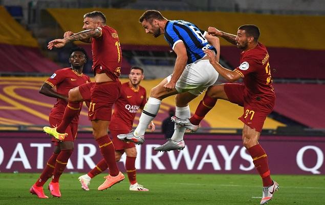 姆希塔良传射卢卡库点射绝平,罗马2-2国际米兰