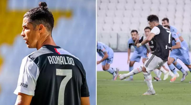 C罗正赛进球数734个追平罗马里奥并列历史第二,仅次于贝利