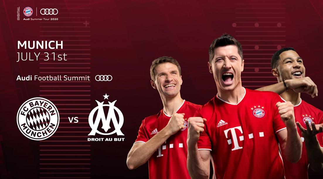 官方:拜仁慕尼黑将在7月31日约战马赛,为欧冠热身