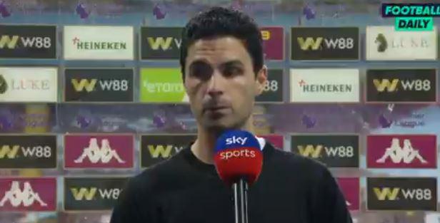 阿尔特塔:球迷们,请相信我说的每一句话,老板很支持我