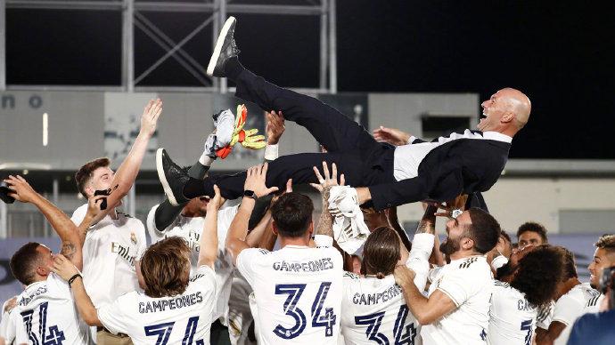 欧足联评西甲赛季最佳阵:皇马五将入选,巴萨仅梅西在列