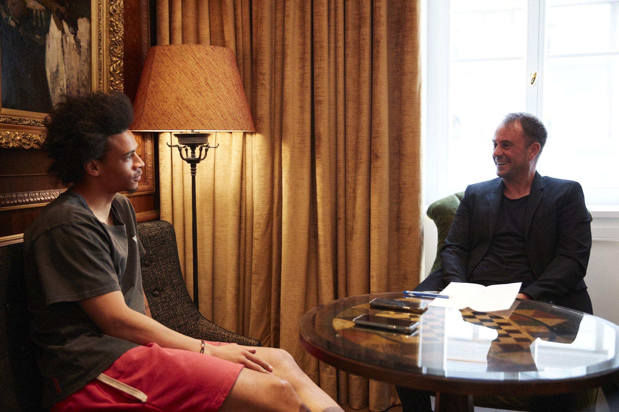 萨内专访:拒绝曼城续约并不容易,相信能在拜仁拿欧冠