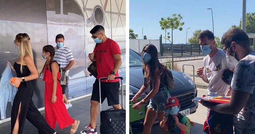 梅西等巴萨球员携家人外出度假,与政府建议相违背