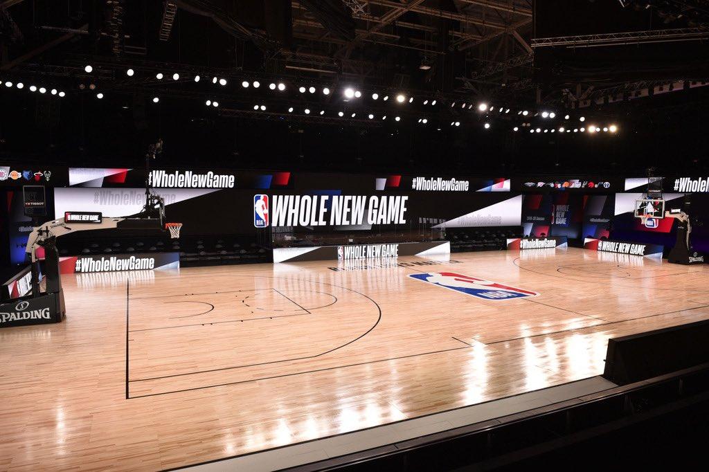 记者解读NBA复赛场地:每场30个摄像头,大部分自动控制
