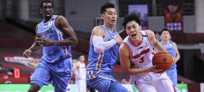 北京不敌广东常规赛排名定格在第4名,辽宁升至第3
