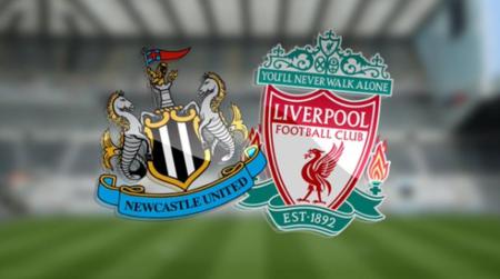 GIF:纽卡斯尔开场25秒打进一球,利物浦客场一球落伍