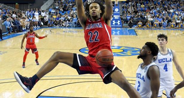 亚利桑那大学中锋齐克-纳吉为20多支NBA球队完成面试