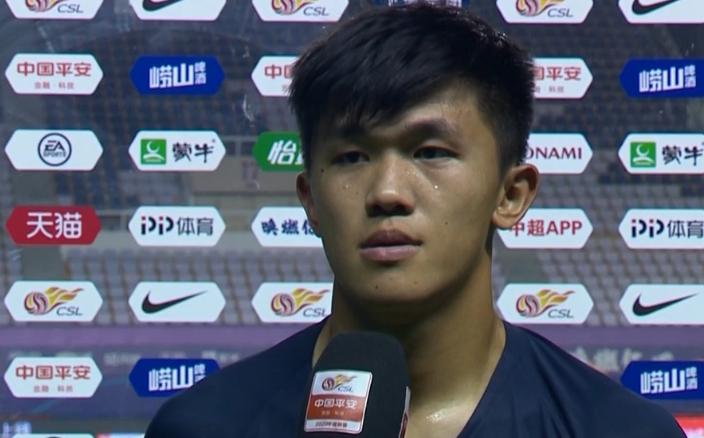 富力陈俊乐:今天我们的发挥不好,防守出现了失误