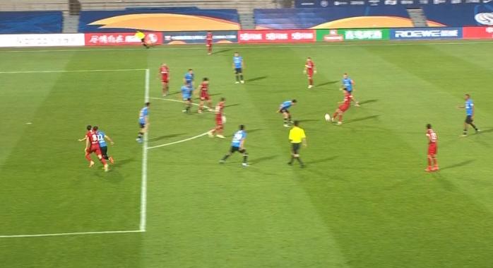 GIF:无效!周定洋越位参与进攻,多拉多绝杀球被吹