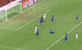GIF:亚历山德里尼破门,黄海迅速扳平比分