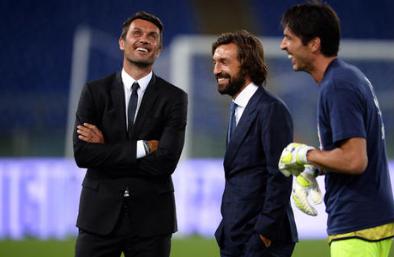 皮尔洛:和米兰没联系,那批球员中只有马尔蒂尼还在米兰