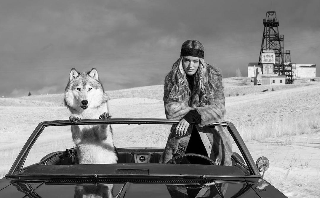 又秀上了!乐福晒女友与狗在越野车上的照片