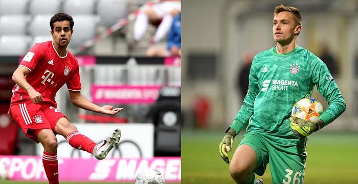 官方:拜仁球员福吕希特尔和辛分外租加盟纽伦堡